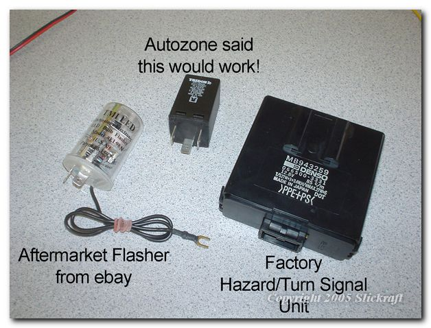 Need help for flasher relay modification for LED signal